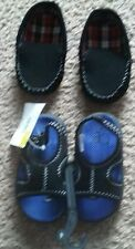 baby boy shoe lot size 4 infant sandals loafers nwt