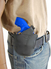 NEW BARSONY LEATHER PANCAKE HOLSTER FOR CHARTER ARMS 22 327 38 357 REVOLVER