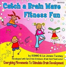 5 Pack KIMBO EDUCATIONAL CATCH A BRAIN WAVE FITNESS FUN CD by