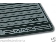 OEM NEW 2007-2010 Lincoln MKX All-Weather Vinyl Floor Mats Rubber Charcoal Black