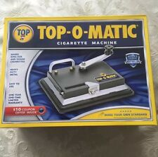 TOP-O-Matic Cigarette Maker Rolling Making Tobacco Injector Machine Kings & 100s