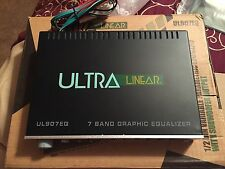 NEW Old School Ultra Linear UL907EQ Passive Equalizer,EQ,Rare,NOS,Vintage