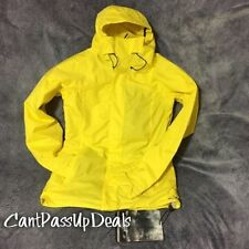 NWT WOMENS OAKLEY SWERVY CURVE SHELL SKI SNOWBOARD JACKET PRISM YELLOW SMALL S