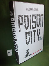 PAUL CRILLEY POISON CITY FIRST UK EDITION HARDBACK NEW & UNREAD