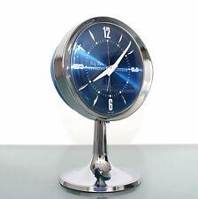 WESTCLOX BIG BEN SCOTLAND Alarm TOP! Clock Mid Century Pedestal! Space Age RETRO
