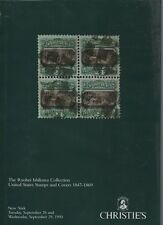 Christies Auction catalogue - Ishikawa Collection US Stamps & Covers 1847-69