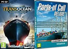 transocean the shipping company & ports of call deluxe  new&sealed