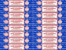 16 Boxes 15gm Each Nag Champa Incense Satya Sai Baba 2016 Series 240 Grams Total