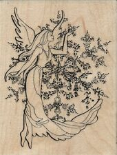 """Crystal Angel"" Rubber Stamp by Stampendous"