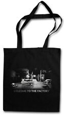 WELCOME TO THE FACTORY Hipster Shopping Cotton Bag - Andy Pop Art Picture Warhol
