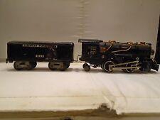 American Flyer Pre War Die-cast Locomotive 420 2-4-2  & Tender 1121  /  O Gauge