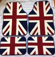 UNION JACK FLOOR CAR MATS FOR PEUGEOT 107 108 207 208 307 2008 3008 308 407 RCZ