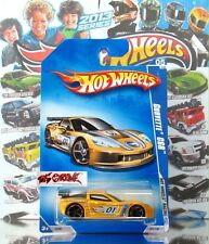 Hot Wheels 2009 #071 U.S.WALMART EXCLUSIVE Corvette® C6R™ PEARL DARK YELLOW,NEW