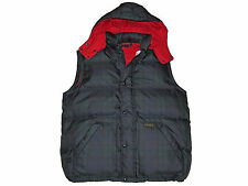 Polo Ralph Lauren Blackwatch Plaid Down XXL Puffer Vest Ski Coat Jacket 2XL