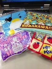 Sho-Comi Magazine Promo Furoku Kobakawa & Ayakashi Mini Zip Bag Set Japan