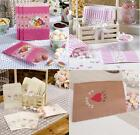 25 PAPER SWEETIE BAGS - VARIOUS DESIGNS - VINTAGE WEDDING CANDY BAR PARTY FAVOUR
