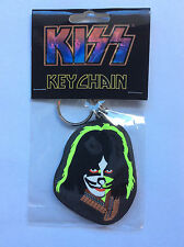 PETER CRISS of KISS Rubber KEYCHAIN Face Design OFFICIAL MERCHANDISE