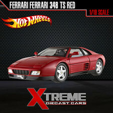 HOTWHEEL ELITE X5480-9964 1:18 FERRARI FERRARI 348 TS RED SUPERCAR DIECAST CAR
