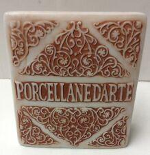 Porcellane D'arte Porcelain Dealer Counter Advertising Display Sign