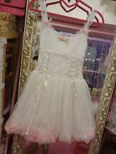 **US SELLER**FLOWER LACE FLORAL HIME GYARU ONEPIECE LIZ LISA DRESS SHIBUYA JAPAN