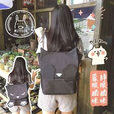 Harajuku Cute Shy Cat Paw Lolita Girls Shoulder Bag Black School Bag Backpack
