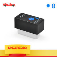 Mini ELM327 V2.1 OBD2 OBDII Bluetooth Diagnostic Code Scanner Power Switch UK