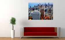 CHICAGO CITY VIEW NEW GIANT LARGE ART PRINT POSTER PICTURE WALL