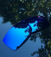 NEW POLARIZED Ice Blue Iridium Replacement Sunglasses Lenses For Oakley Gascan