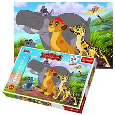 Trefl 24 Piece Maxi Kids Unisex Disney Lion King Guard Nala Mufasa Jigsaw Puzzle