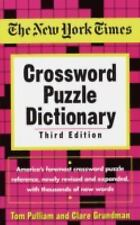 The New York Times Crossword Puzzle Dictionary (Puzzles & Games Reference Guides