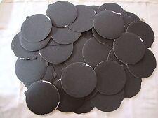 "5"" Inch 50 Sandpaper Disks 40 Grit Peel & Stick Adhesive Abrasive Sand Paper"