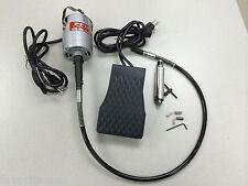 PRO-FLEX CC TYPE FLEXSHAFT MOTOR, HANDPIECE, PEDAL JEWELRY & WOODWORK 1/8HP,110V
