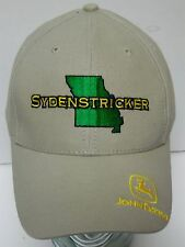 SYDENSTRICKER Missouri JOHN DEERE Tractor Equipment Advertising SNAPBACK HAT CAP