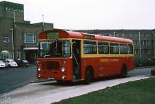 London Transport BL95 Harefield Hospital Dec 77 Bus Photo