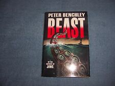 BEAST by Peter Benchley/1st Ed/HCDJ/Literature & Fiction/Adventure