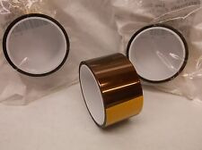 3pk 3M PREFERRED CONVERTER 5419 Film Tape Polyimide Gold 1 In. x 5 Yd. (B7)