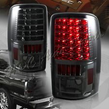 For 2000-2006 Chevy Tahoe Suburban 1500 2500 LED Smoke Len Rear Tail Lights Lamp