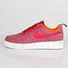 Nike Lunar Air Force 1 Low UNDFTD SP SZ 9 Red White Undefeated QS 652805-660