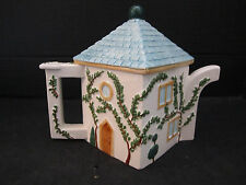 "Swid Powell, Justin Terzi""s ""CYPRESS"" Pattern, Tea Pot - Square Cottage House"