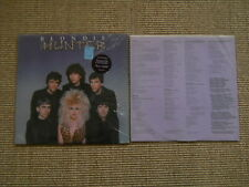 Blondie Hunter LP - USA 1982 Chrysalis CHR 1384 - OIS/Lyrik - washed /gewaschen