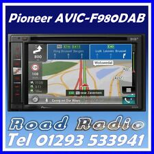 Brand New Pioneer AVIC-F980DAB Includes Glassmount DAB Aerial