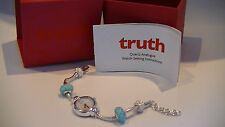 Truth By ACCURIST Ladies Silver Plated Charm Watch TR1503n New SRP £100