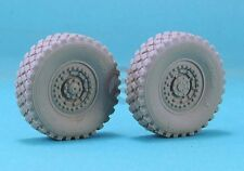 Legend 1/35 4x4 MRAP Truck Weighted Wheels Set (for Kinetic kit K61011) LF1287