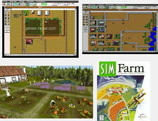 Sim Farm Simfarm Win PC XP tested ok CD Win7-32bit/64bit with dosbox instruction