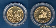Monaco 2004 - 10 Centimes Sceau des Grimaldi 14999 ex du BE RARE - Monaco