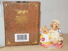 VTG 1998 New Enesco Priscilla Hillman mouse tales Following In your Footsteps