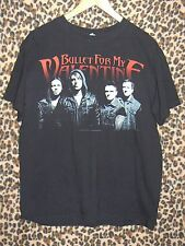Bullet For My Valentine black 2013 concert T-shirt 2-sided size medium METAL
