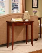 "DHP Rosewood Console Table- 5139096 Table 12"" x 28"" x 28"""