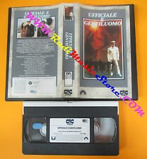 VHS film UFFICIALE E GENTILUOMO 1990 Richard Gere Taylor Hackford (F111) no dvd