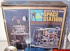 MATTEL MAJOR MATT MASON MEN IN SPACE SPACE STATION PLAYSET 1960s BOXED COMPLETE